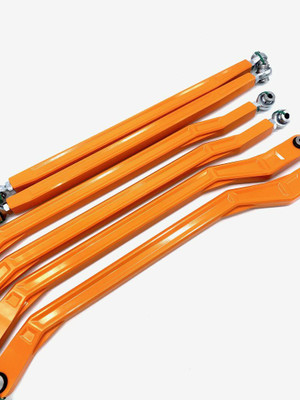 LM UTV Can-Am Maverick X3 Radius Rods 64 Orange Crush HC LMU-RRR-02-03-OCPC