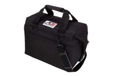 AO Coolers 24 Pack Canvas Series Cooler Black AO24BK