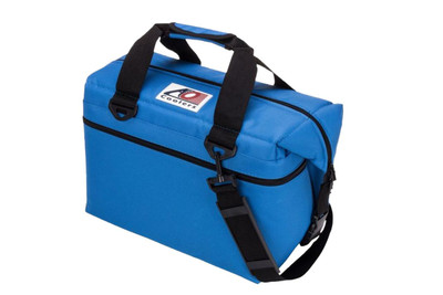 AO Coolers 24 Pack Canvas Series Cooler Royal Blue AO24RB