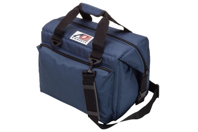 AO Coolers 24 Pack Deluxe Canvas Series Cooler Navy Blue AO24DXNB