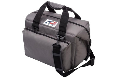 AO Coolers 24 Pack Deluxe Canvas Series Cooler Charcoal AO24DXCH
