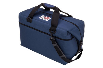 AO Coolers 36 Pack Canvas Series Cooler Navy Blue AO36NB