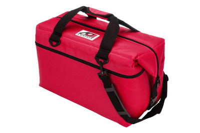AO Coolers 48 Pack Canvas Series Cooler Red AO48RD