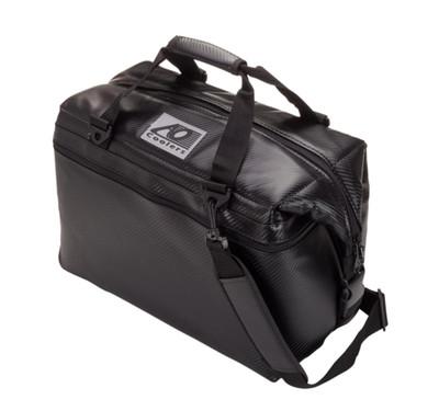 AO Coolers 24 Pack Carbon Cooler Black AOCR24BK