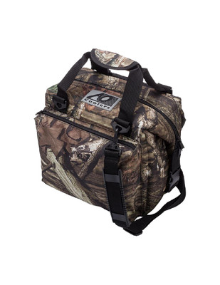 AO Coolers Mossy Oak Deluxe Cooler 12 Pack AOMO12DX