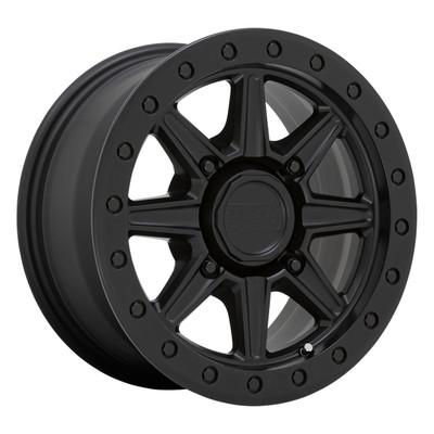 Black Rhino Wheels Webb UTV Wheel 15x7 4x156 51 Matte Black 1570WEB514156M32