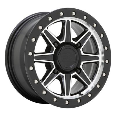 Black Rhino Wheels Webb UTV Wheel 15x7 4x110 51 Gloss Black 1570WEB514110F80