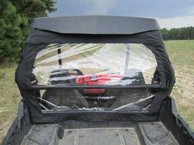 Seizmik Polaris RZR Soft Rear Windshield and Dust Panel 04018