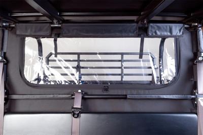 Seizmik Kawasaki Mule Pro Soft Rear Windshield and Dust Panel 04028
