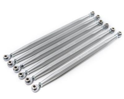 Agency Power Can-Am Maverick X3 Adjustable Rear Radius Rod Set Silver AP-BRP-X3-200-SIL