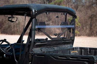 Seizmik Can-Am Defender Hard Rear Folding Windshield UV Resistant Polycarbonate SZ-32000
