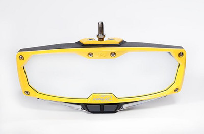 Seizmik Halo-RA Series Cast Aluminum Trim Kit Rearview Yellow 18103