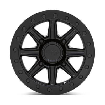 Black Rhino Wheels Webb Beadlock UTV Wheel 15x7 4x136 51 Matte Black 1570WBB514136M06
