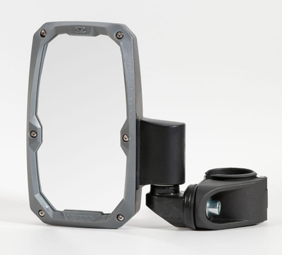 Seizmik Embark Side View Mirror with ABS Body and Bezel – 2″ or 1.875″ Round Tube Pair 18105