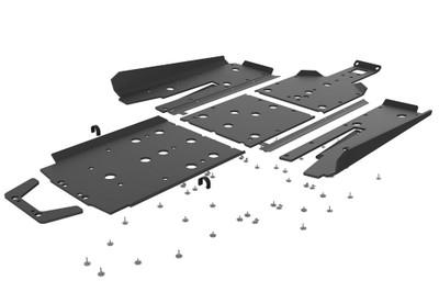 Seizmik Polaris RZR Pro XP UHMW Skid Plate Kit with Integrated Tree Kickers/Rock Sliders 76-10167