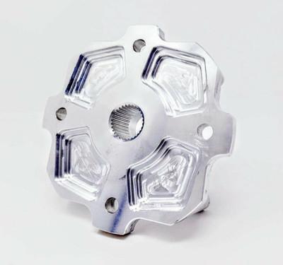 ZRP Can-Am X3 Wheel Hub, Billet Dune Edition 500007