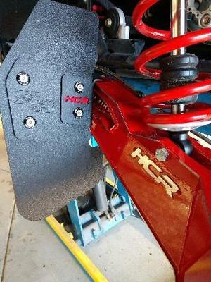 HCR Racing Can-Am Maverick X3 Trailing Arm Mud Flap Set MAV-05407-1