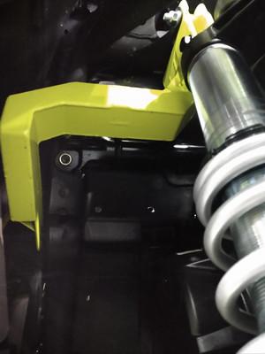 HCR Racing Can-Am Maverick X3 64-72 Shock Tower and Rear Shock Brackets MAV-05600-8