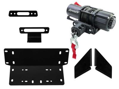 SuperATV Kawasaki Teryx Winch Mounting Plate 35-WM-K-TRX4