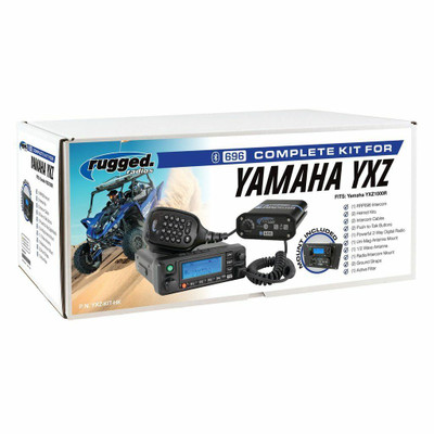 Rugged Radios Yamaha YXZ Complete UTV Communication Kit w/ OTU Headset YXZ-KIT-OTU