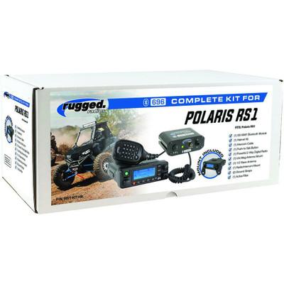 Rugged Radios Polaris RS1 Complete UTV Communication Kit w/ Helmet Kit RS1-KIT-HK