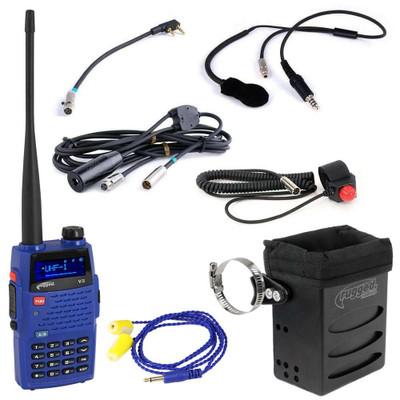 Rugged Radios IMSA Single Seat Kit With V3 Handheld Radio IMSA-SS-V3