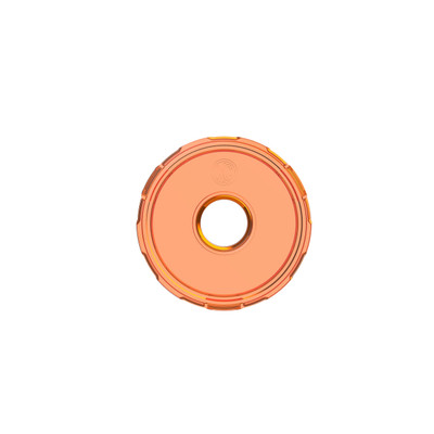 KC HiLiTES Cyclone V2 LED Replacement Lens Amber 4402