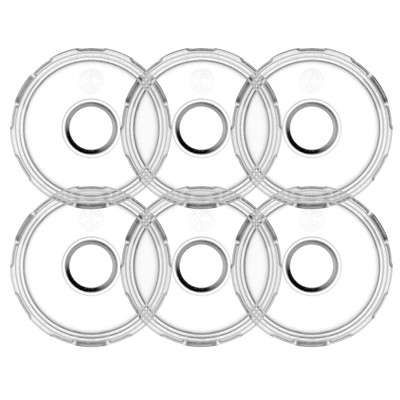 KC HiLiTES Cyclone V2 LED Replacement Lens Diffused 6 Pack 4411