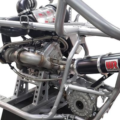 Weller Racing Yamaha YXZ1000R WR Edition Turbo Dual Exhaust System 10403
