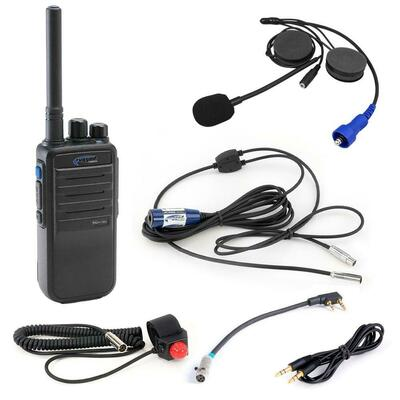 Rugged Radios Single Seat Kit w/ RDH16C VHF Radio SS-RDH-V