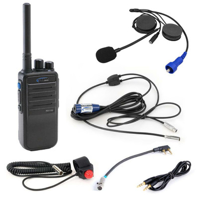 Rugged Radios Single Seat Kit w/ RDH16C UHF Radio SS-RDH-U