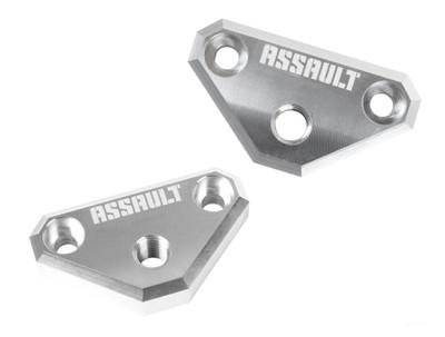 Assault Industries Can-Am X3 M10 A-Pillar Mount Brackets Aluminum 401005SM0133