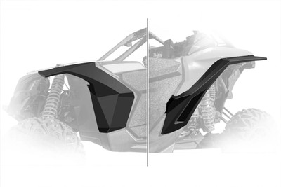 DRT Motorsports Can-Am Maverick X3 ABS Fenders Front and Rear CAX3FD1