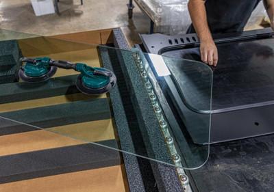 SuperATV Replacement Glass Windshield Kit GWS-P-RAN1K-RGK