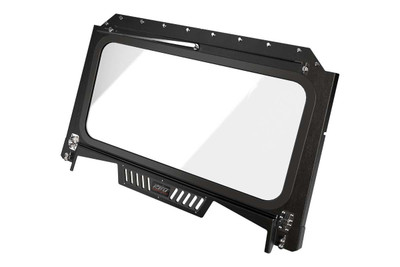 Razorback Offroad RBO Polaris RZR 1000 Front Folding Windshield with Wiper and Vents RBO4065
