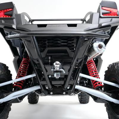 HMF Racing Kawasaki Teryx KRX 1000 Rear Bumper w/ Hitch Receiver Black 9295412661