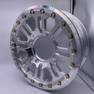 ZRP RZR APEX Forged Beadlock Wheel 15x5.5 4X156 Aluminum 800008