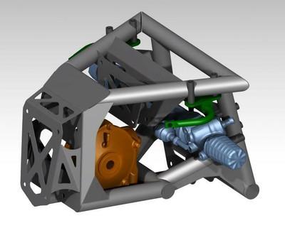 Alsup Racing Development Can-am Maverick X3 Replacement Front Bulkhead ARD-RFB