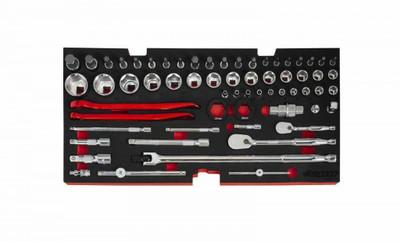 BOXO USA 103-Piece Metric Moto Tool Set BXE047-R2