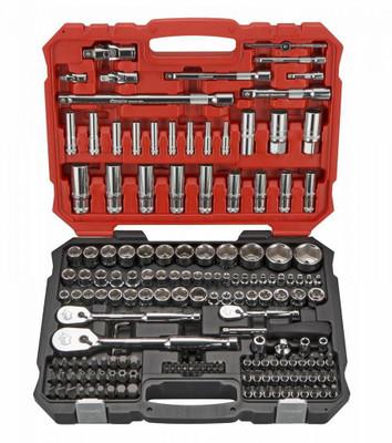 BOXO USA 172-Piece Metric 1/4, 3/8 and 1/2 Drive 6-Point Master Socket Set BXB011