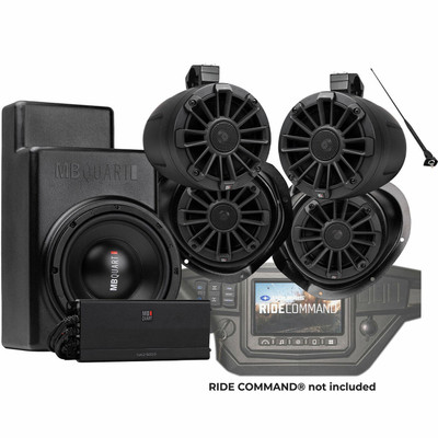 MB Quart Polaris General Tuned System Stage 3 4 Speaker for Ride Command MBQG-STG5-RC-1