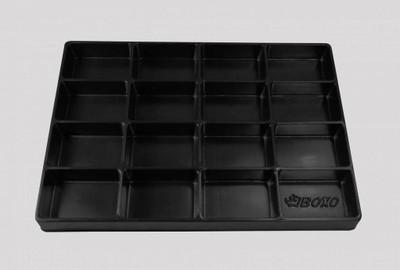 BOXO USA 16 Universal 16-Section Deep Drawer Plastic Divider BXP000-5