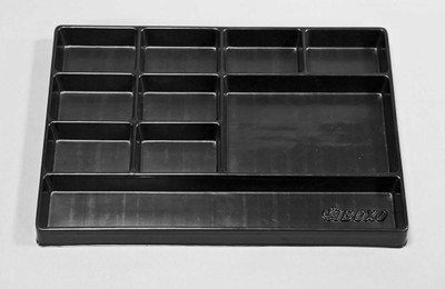 BOXO USA 16 Universal 10-Section, Deep Drawer Plastic Divider BXP000-3