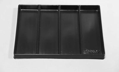 BOXO USA 16 Universal 4-Section Deep Drawer Plastic Divider BXP000-1