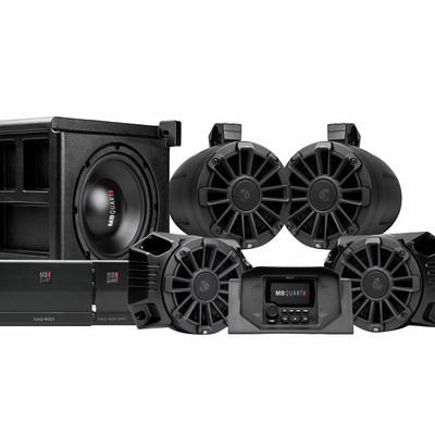 MB Quart Polaris Ranger Tuned Audio System Stage 5 4 Speaker MBQRG-STG5-1