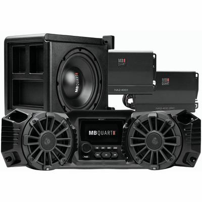 MB Quart Polaris Ranger Tuned Audio System Stage 3 2 Speaker MBQRG-STG3-1