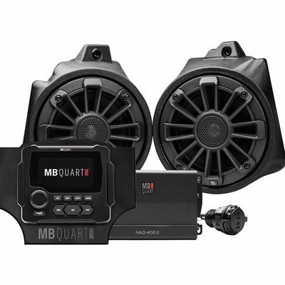 MB Quart Honda Talon Tuned Audio System Stage 2 MBQT-STG2-RAD-1