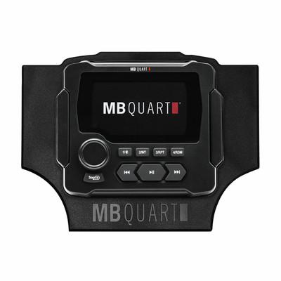 MB Quart Honda Talon Dash Mount Radio Kit MBQT-RAD-1