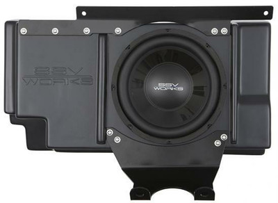 SSV Works Polaris RZR XP 1000 Behind Seat Sub Box with Amplified 10 WP-RZ3BS10