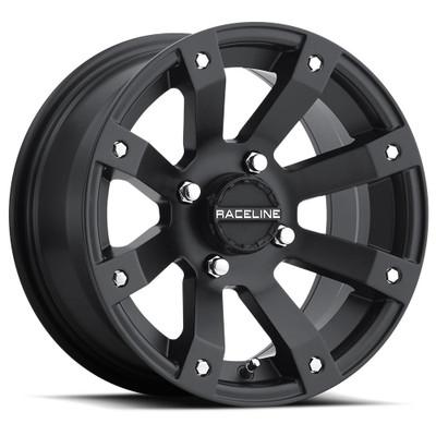 Raceline Wheels A79 Scorpion UTV Wheel 14X7 10 4X110 Black A7947011-52